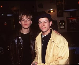 leonardo dicaprio and mark wahlberg image