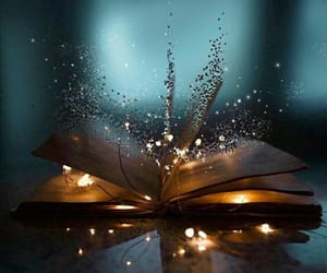amazing, book, and lights image