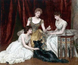 art, painting, and royal image