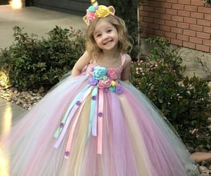 dresses, hair accessory, and unicorn image