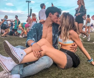 couple, relationship goals, and summer mckeen image