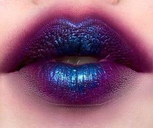lips, makeup, and makeup art image