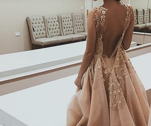 dreaming, dress, and fashion image
