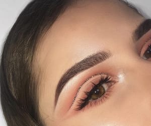 eye makeup, eyebrows, and eyelashes image