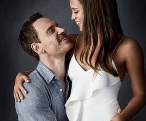 alicia vikander, michael fassbender, and couple image