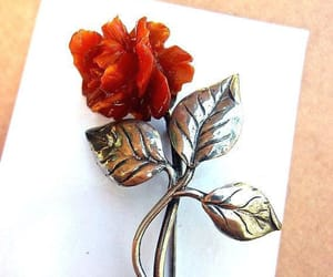 brooch, hand carved, and etsy image
