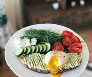 breakfast, dinner, and drinks image
