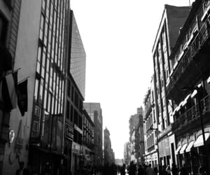 black and white, city, and mexico image