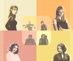 hawkeye, pepper potts, and hayley atwell image