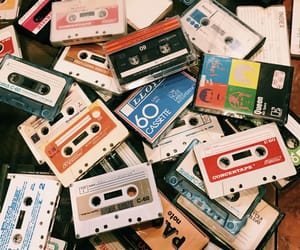 cassette, cassette tape, and record image