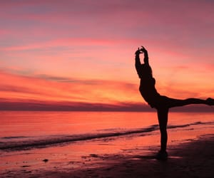 ballerina, beach, and color image