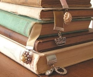 bookmarks, vintage, and books image