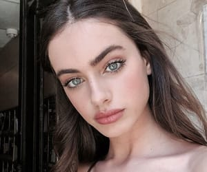 beauty, blue eyes, and fashion image