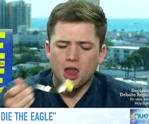 actor, funny face, and taron egerton image