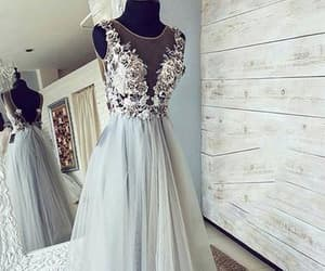 evening dress, formal wear, and prom dress image