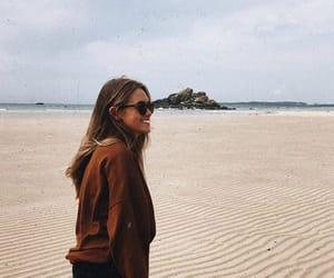 beach, seaside, and ocean image