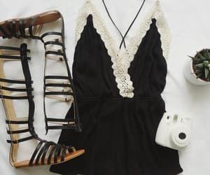 fashion, summer fashion, and gladiators image