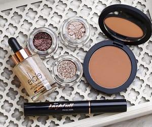 cosmetics, glow, and makeup image