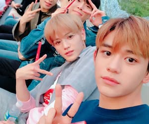 nct, lucas, and jungwoo image