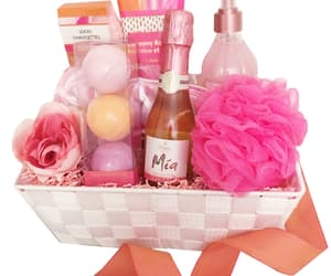 pamper gift basket, feminine gift idea, and bath and body gift basket image