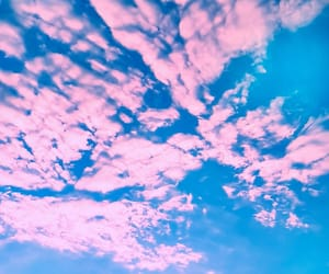 blue, Dream, and pink image
