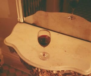 red wine, vintage, and wine image