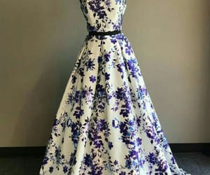 beautiful, evening gown, and simple image