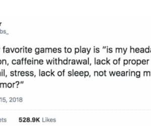 brain, caffeine, and funny image