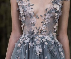 beautiful, dresses, and flowers image