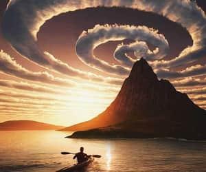 naturaleza, nature, and sunset image