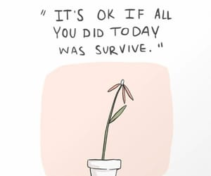 quotes, drawing, and survive image