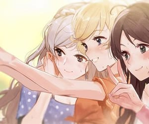 anime, anime girl, and fan art image