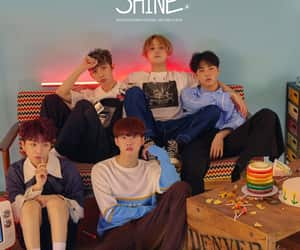 cube, pentagon, and shine image