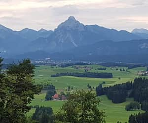 green, hiking, and schloß image