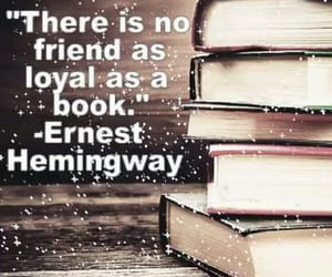book, ernest hemingway, and loyal image