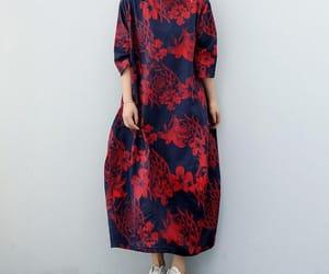 etsy, flower dress, and maxi dress image