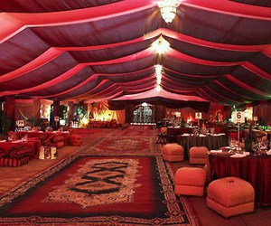 arabian and tent image