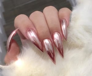 chrome, nails, and stiletto image