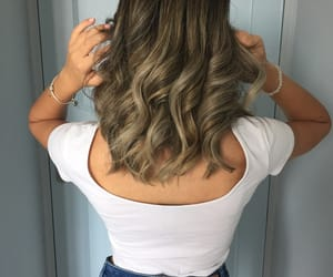 aesthetic, hair, and highlights image