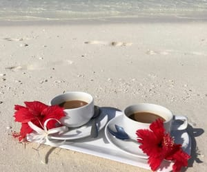 coffee, enjoy, and summer image