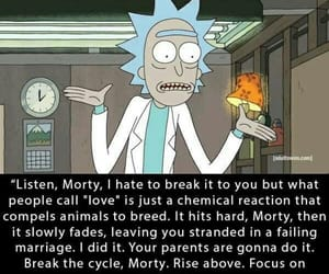 love, quotes, and rick image