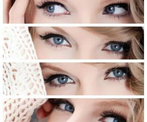 blue, eyes, and Taylor Swift image