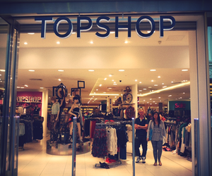 topshop, fashion, and store image