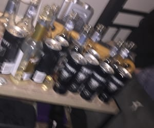 aesthetic, alcohol, and drunk image
