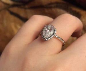 diamond, wedding ring, and jewelry image
