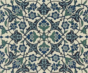 floral, flowers, and geometric image
