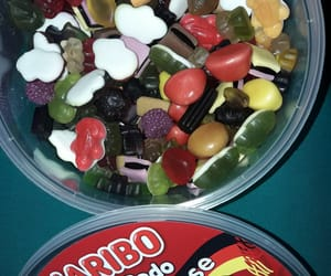 candy, gummy bears, and yummy image