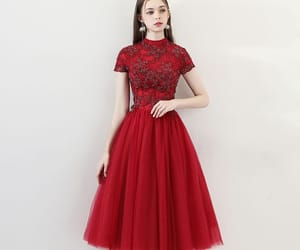 girl, tulle, and formal dress image