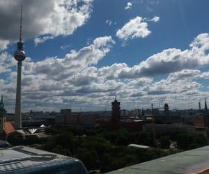 berlin, sky, and buildings image