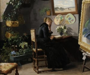 norwegian, Painter, and painting image